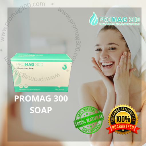 Promag 300 Soap on Face