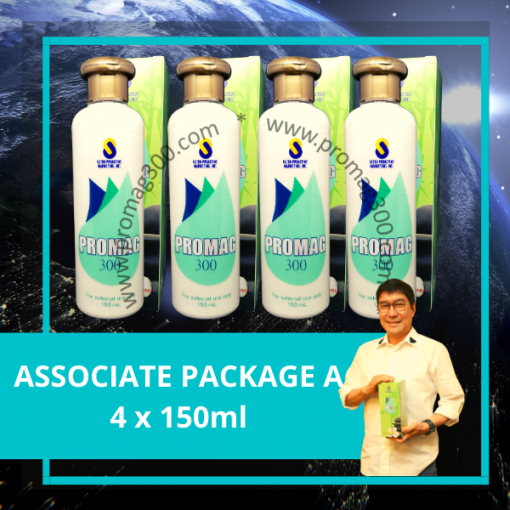 Associate Package A 4x 150ml