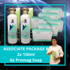 Associate Package B 2x 150ml & 6x Soap