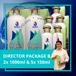 Director Package B 2x 1000ml & 5x 150ml